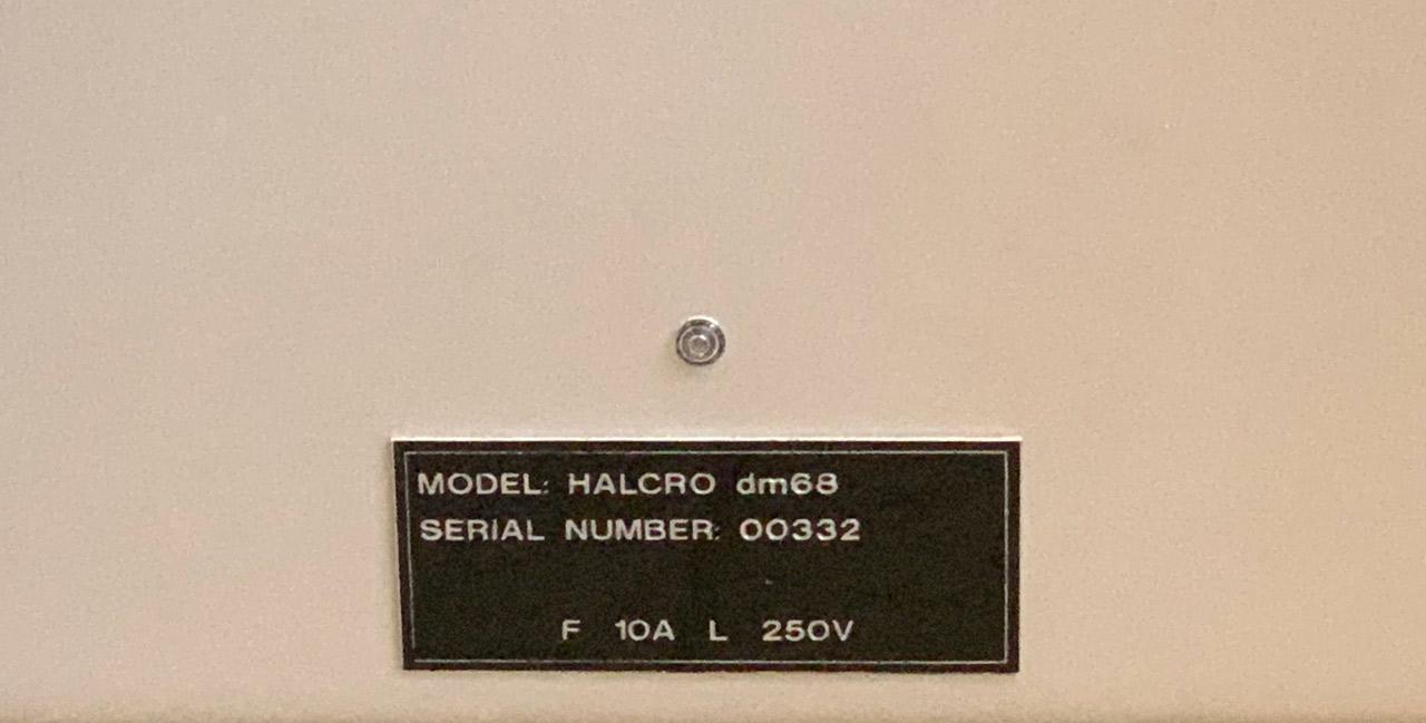 HALCRO-dm68-serie