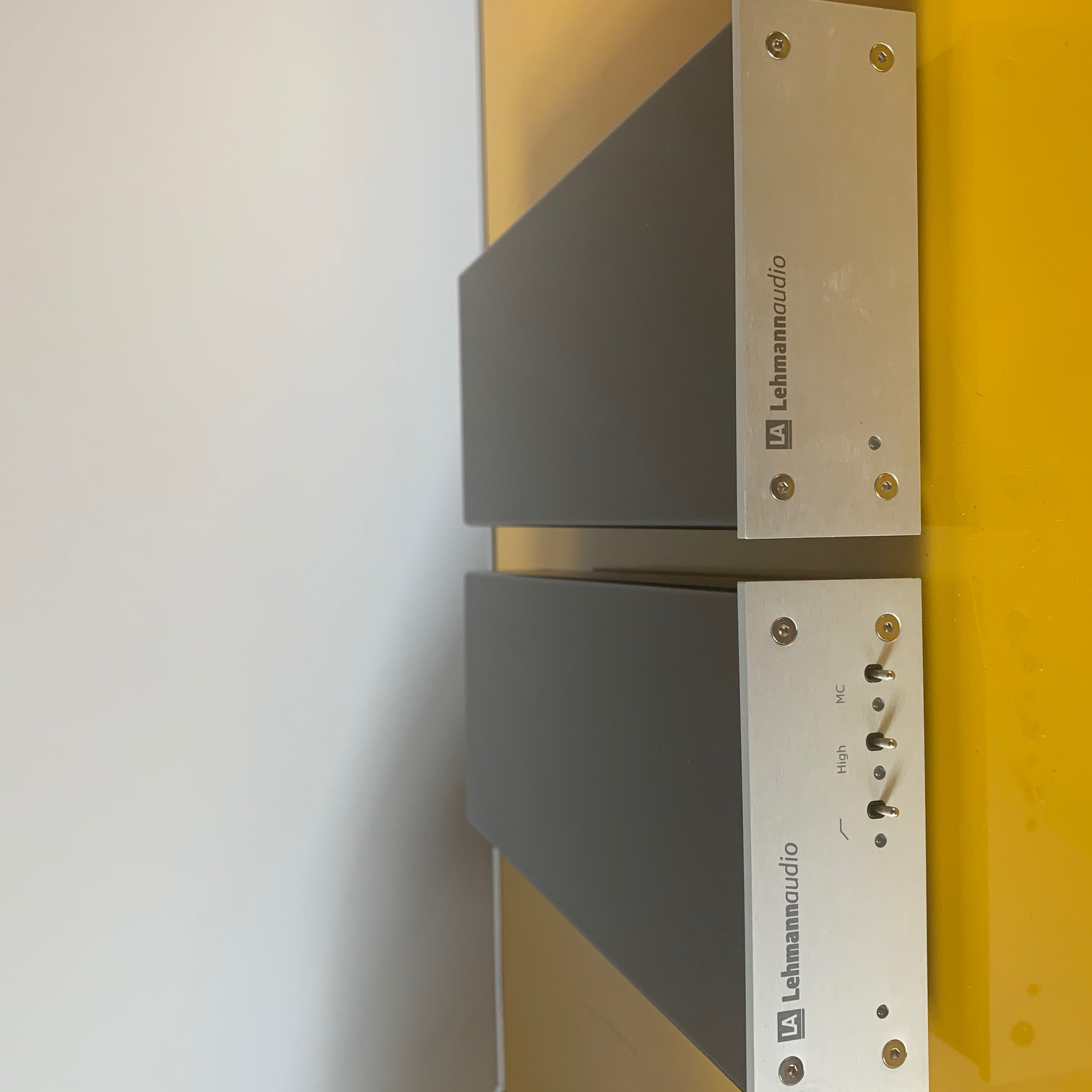 Etage phono LEHMANN AUDIO DECADE silver, MM / MC