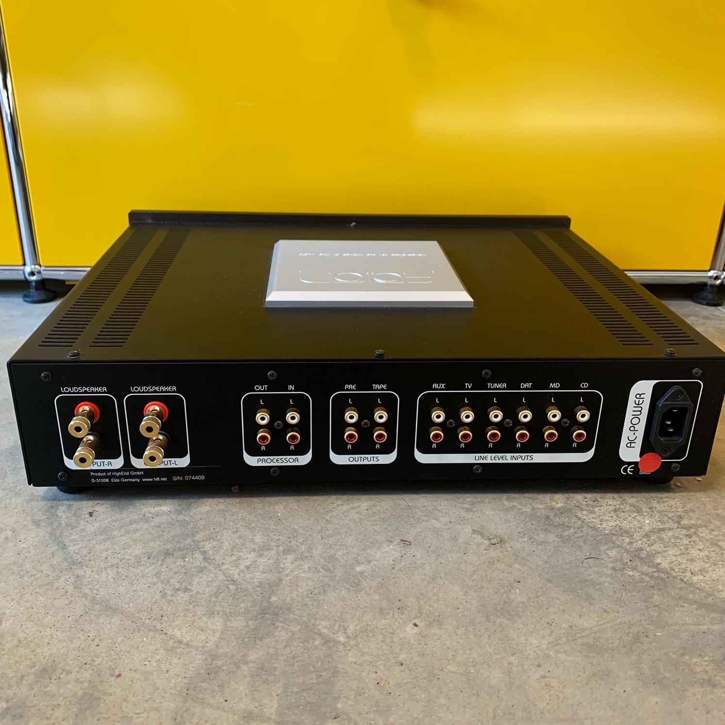 Amplificateur Intégré AARON N01A bornier