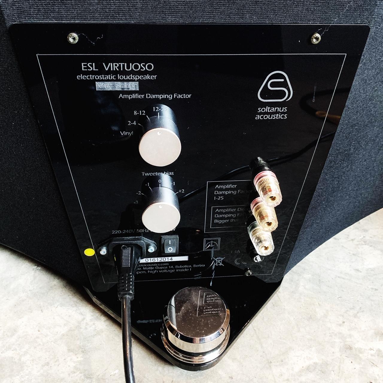 panneaux électrostatiques SOLTANUS VIRTUOS0 - bornier