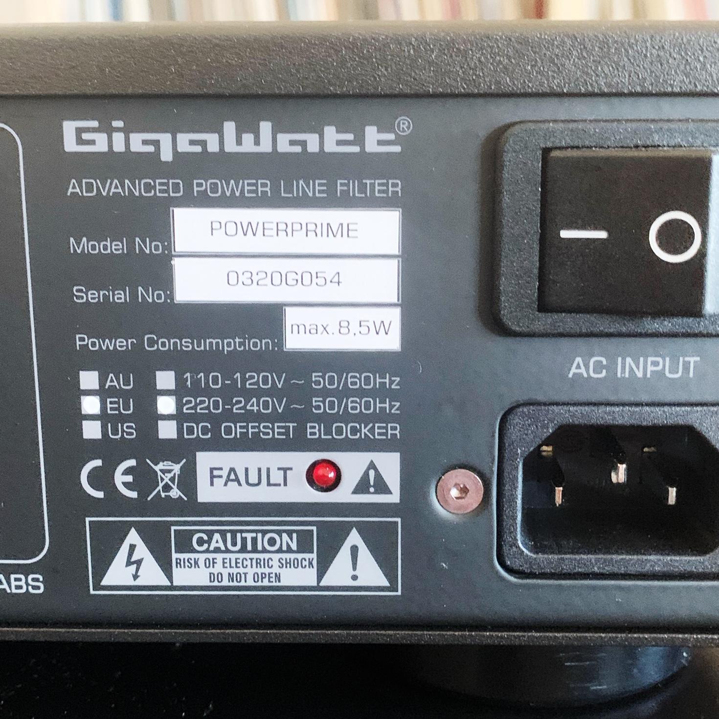Conditionneur de réseau GIGAWATT POWERPRIME