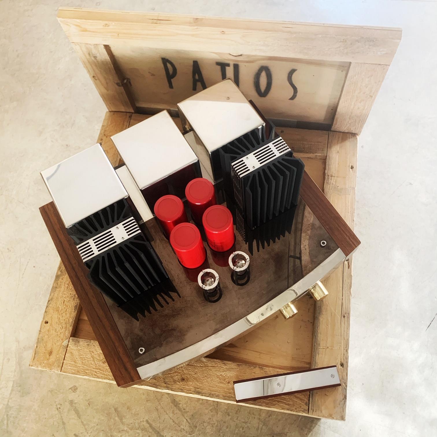 Amplificateur Intégré Hybride tubes / transistors PATHOS TWIN TOWERS