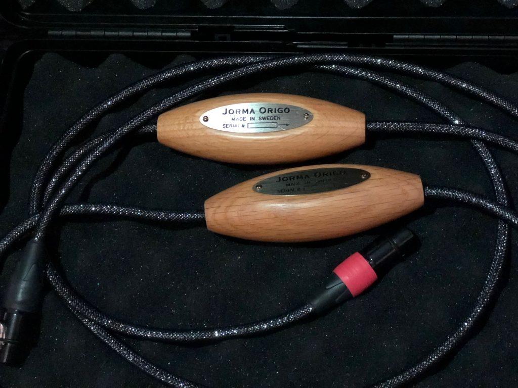 paire de câbles de modulation ORIGO XLR